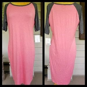 NWT Lularoe Julia long Tshirt dress Tunic